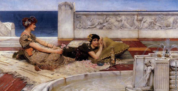 Loves votaries (Alma-Tadema)