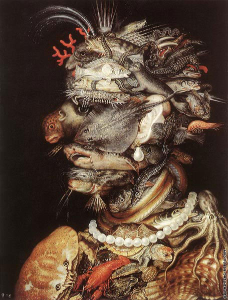 4 elements - Water (Arcimboldo)