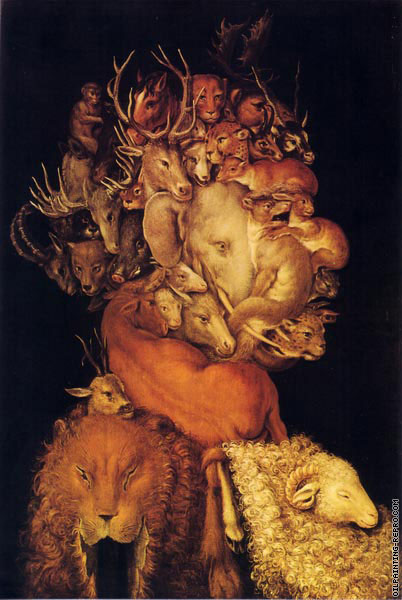 4 elements - Earth (Arcimboldo)