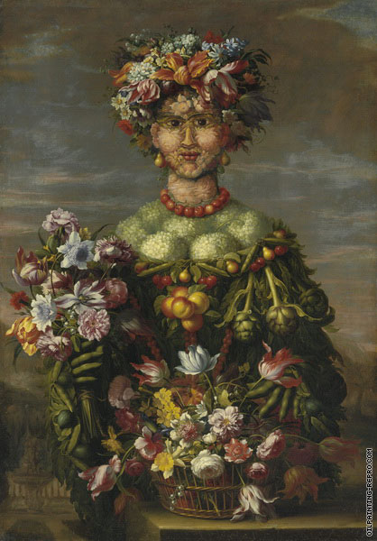 Anthropomorphic - Allegory of Spring (Arcimboldo)