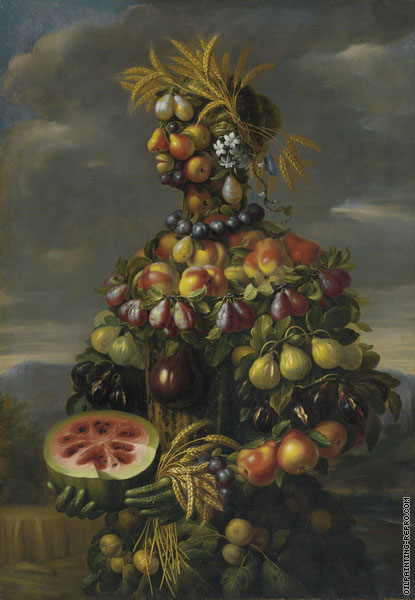 Anthropomorphic - Allegory of Summer (Arcimboldo)