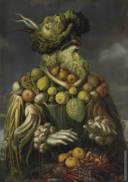 Anthropomorphic - Allegory of Winter (Arcimboldo)