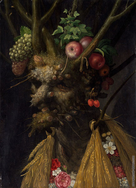 Four Seasons in one Head (Arcimboldo)