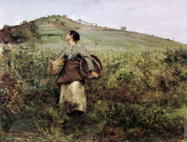 At Harvest Time (Bastien-Lepage)