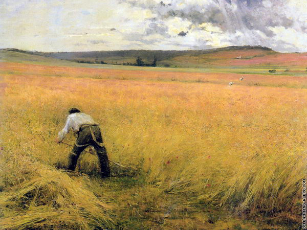 The Ripened Wheat 1 (Bastien-Lepage)
