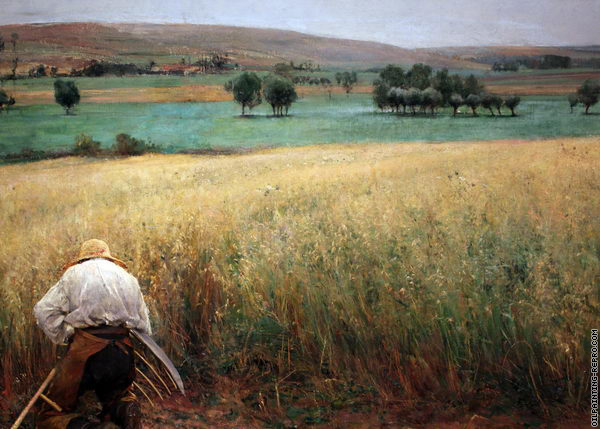 The Ripened Wheat 2 (Bastien-Lepage)