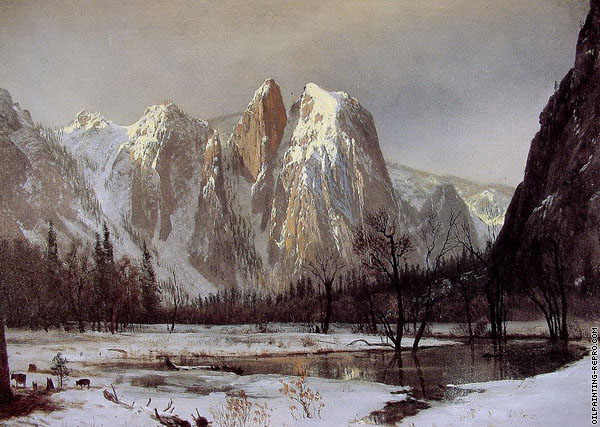 Cathedral Rock (Bierstadt)