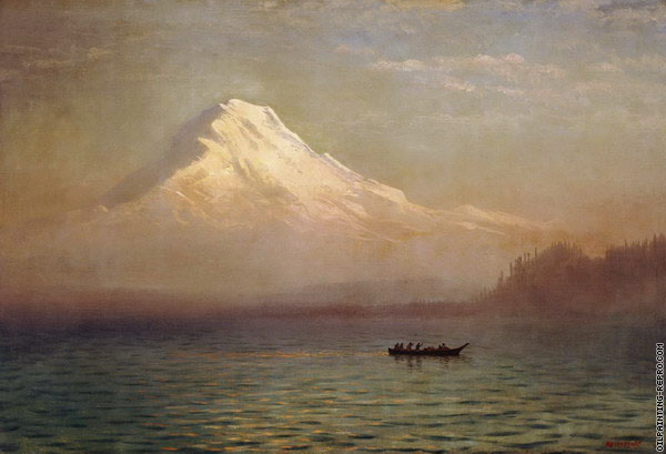 Sunrise on Mount Tacoma (Bierstadt)