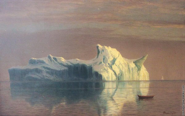 The Iceberg (Bierstadt)