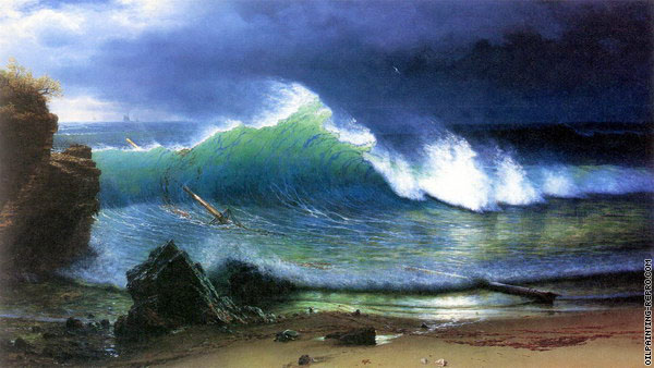 The Shore of the Turquoise Sea (Bierstadt)