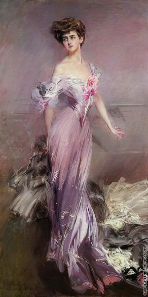 Portrait of Madame Howard-Johnston (Boldini)