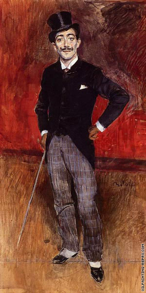 Portrait of the Comte de Rasty (Boldini)