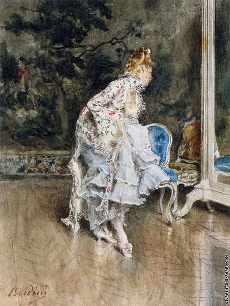 The Beauty Before The Mirror (Boldini)