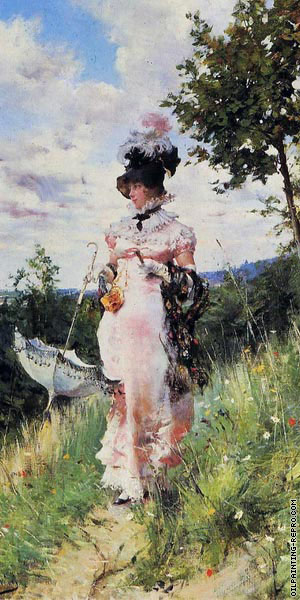 The Summer Stroll (Boldini)