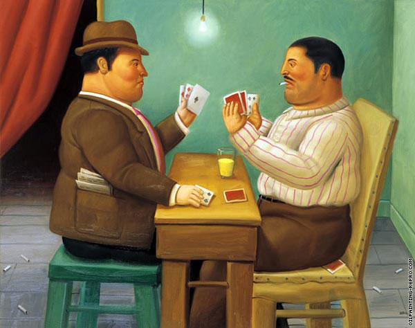 Card Players (Botero)
