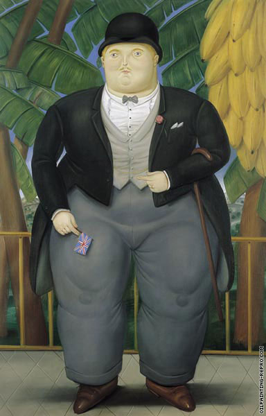 The English Ambassador (Botero)