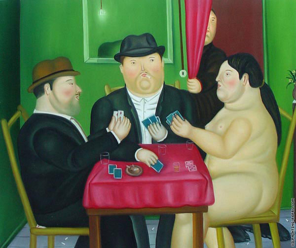 Playing card (Botero)