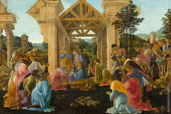 Adoration of the Magi 4 (Botticelli)