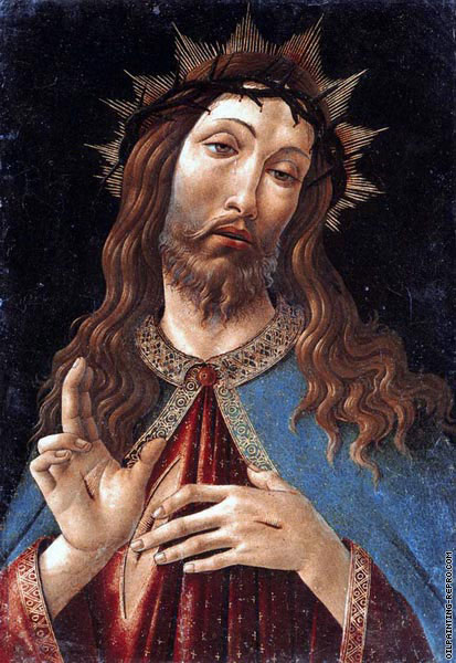 Christ crowned with thorns (Botticelli)