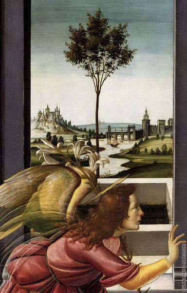 The Annunciation to Maria* (Botticelli)
