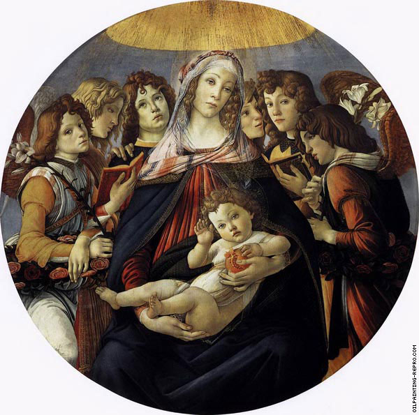 Madonna of the Pomegranate (Botticelli)
