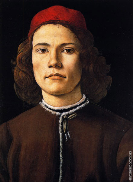 Portrait of a Young Man 3 (Botticelli)