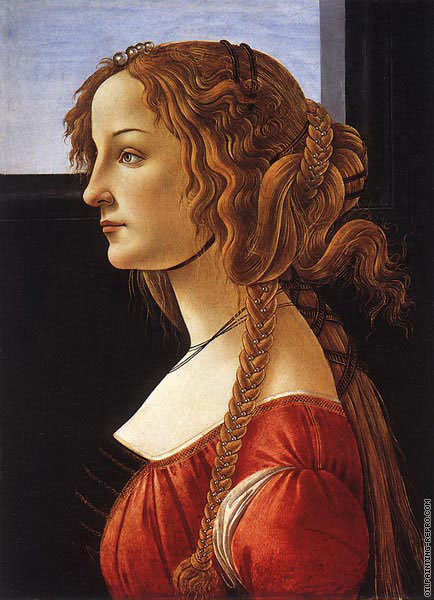 Portrait of a Young woman 1 (Botticelli)