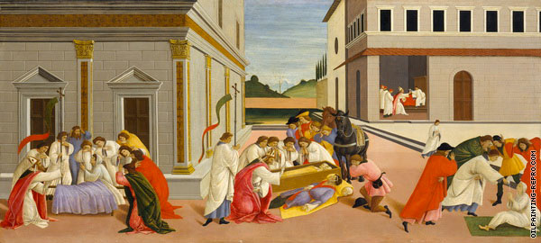 Scenes from the Life of Saint Zenobius 2 (Botticelli)