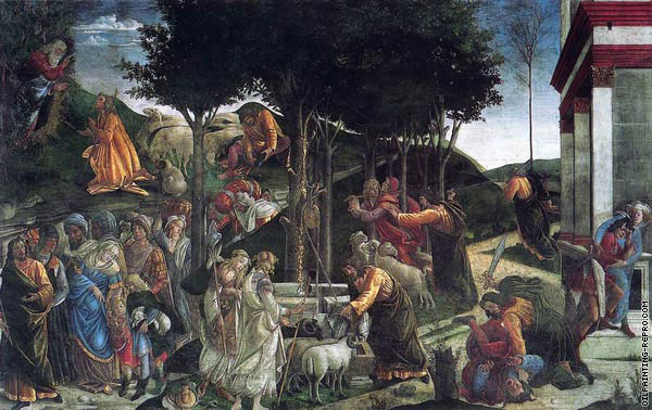 Scenes from the Life of Moses (Botticelli)