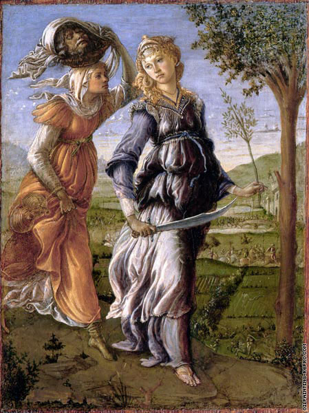 The return of Judith to Bethulia (Botticelli)
