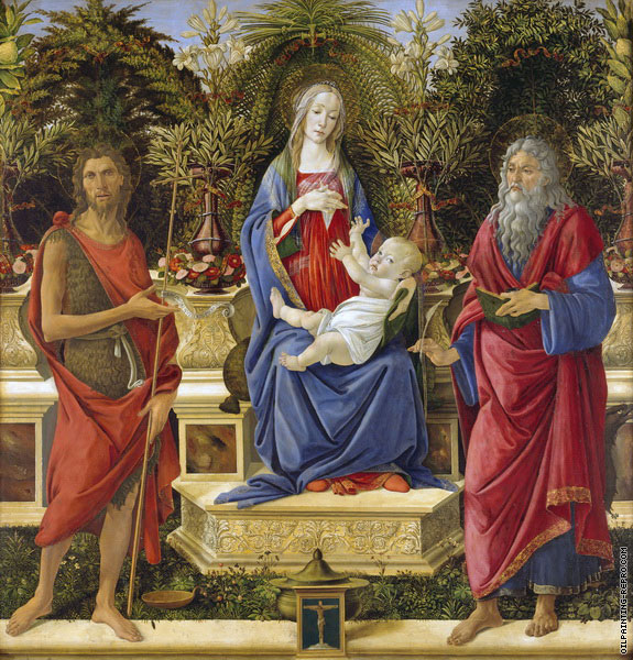 The Virgin and Child Enthroned (Botticelli)
