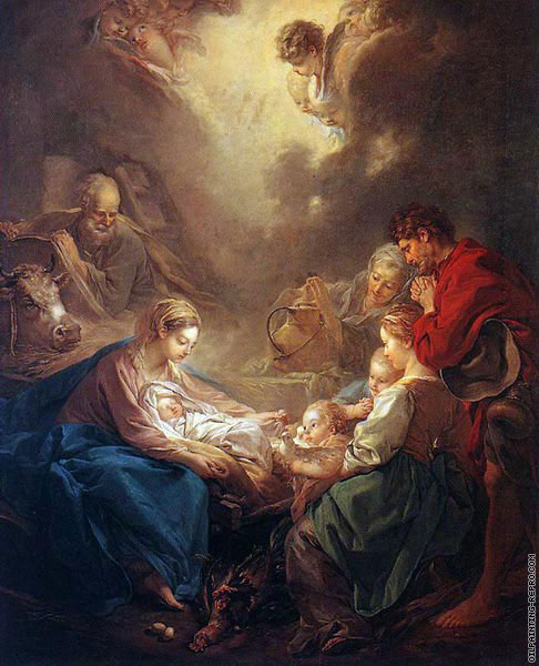 Adoration of the Shepherds (Boucher)