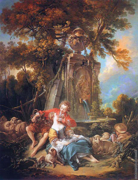 An Autumn Pastoral (Boucher)