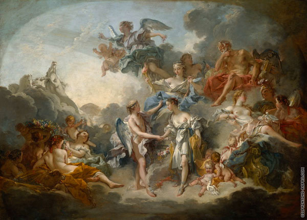 The marriage of Psyche and Cupid (Boucher)