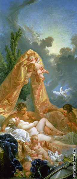 Mars and Venus Surprised by Vulcan (Boucher)