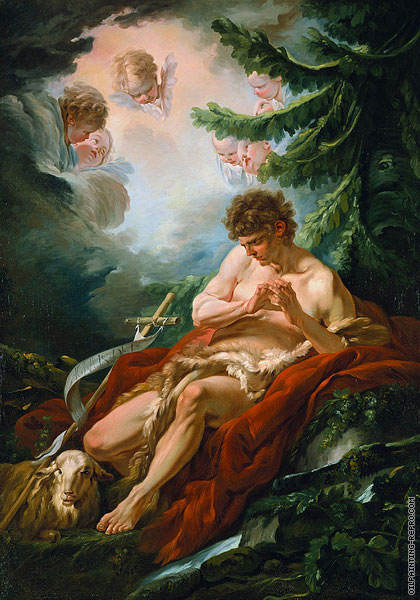 Saint John The Baptist (Boucher)