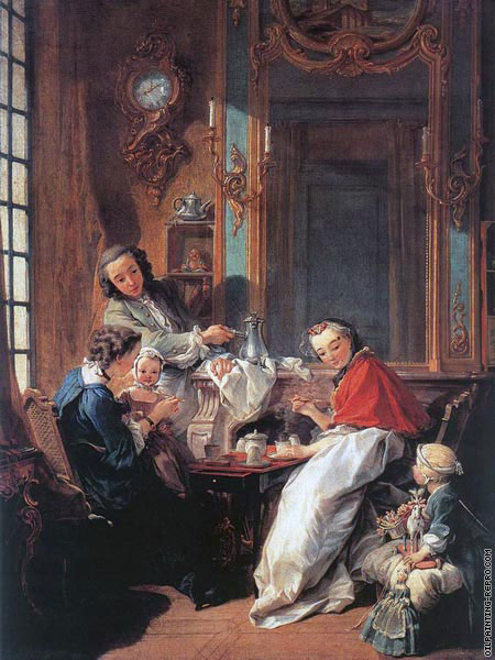 The afternoon meal (Boucher)
