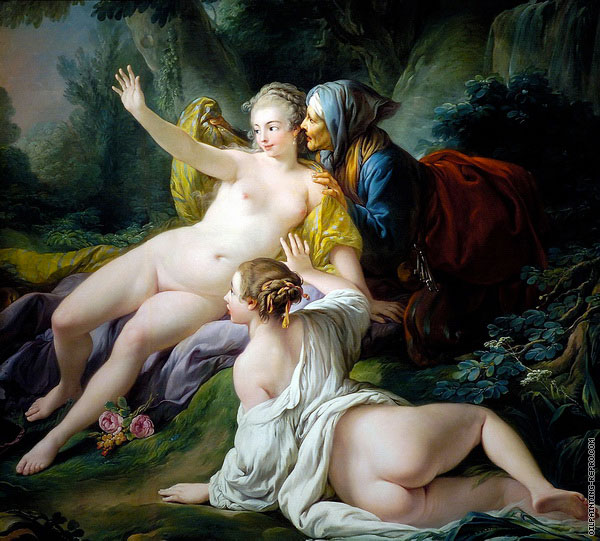 Vertumnus and Pomona (Boucher)