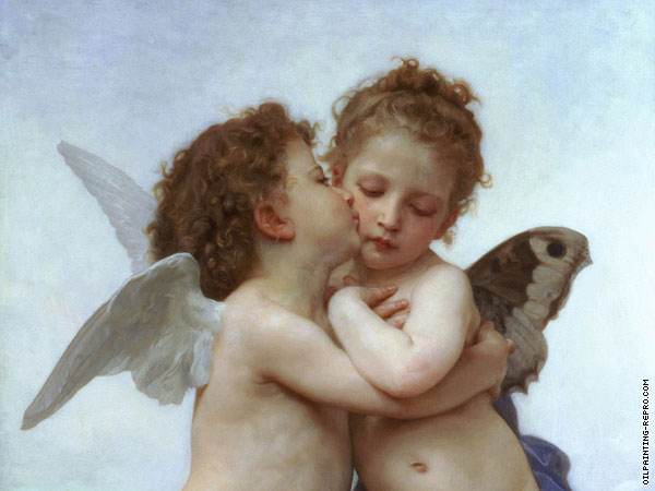 First kiss* (Bouguereau)