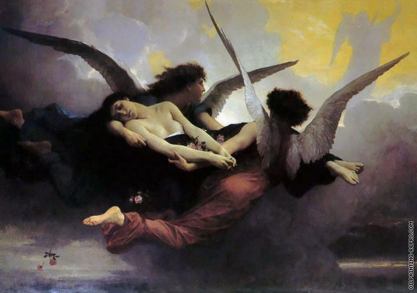 A Soulin Heaven (Bouguereau)