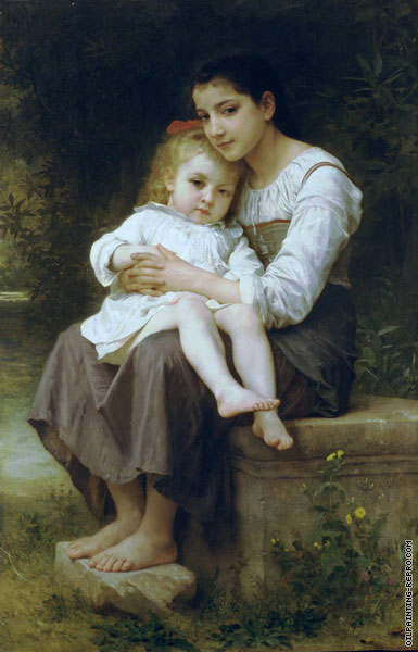 The Eldest Sister (Bouguereau)