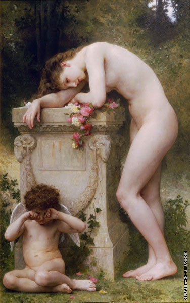 Pain of love (Bouguereau)