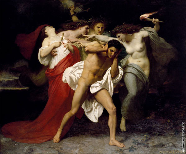 The Remorse of Orestes (Bouguereau)