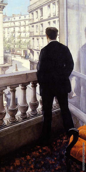 Young Man at the Window* (Caillebotte)