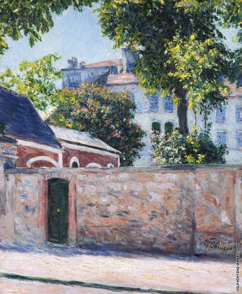 Houses in Argenteuil (Caillebotte)