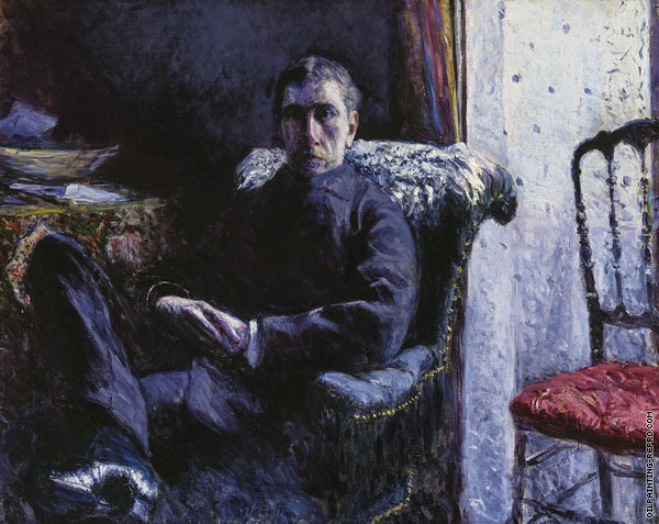 Portrait of Georges Roman (Caillebotte)