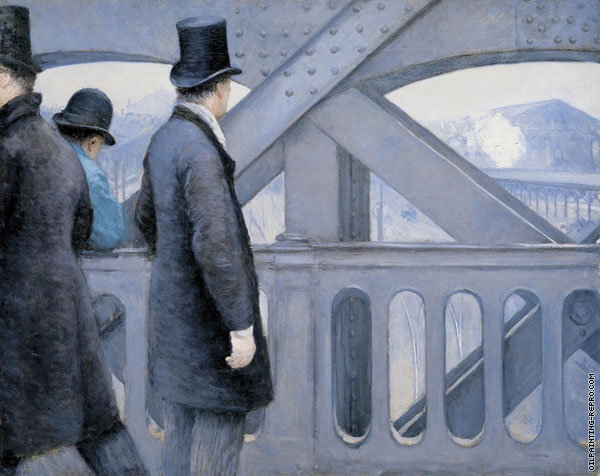 On The Pont de l'Europe (Caillebotte)