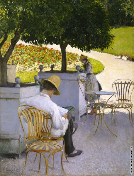 The Orange Trees (Caillebotte)