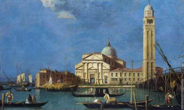 Basilica of St. Peter of Castello (Canaletto)