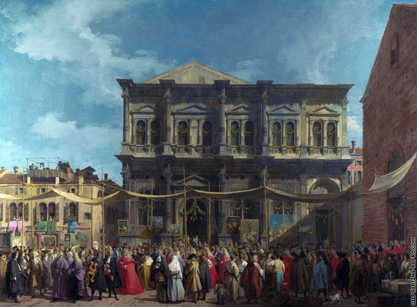 Feast of San Rocco (Canaletto)